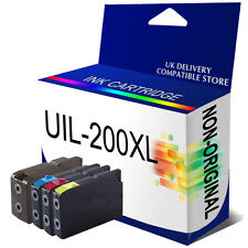 4 Ink Cartridges For Lexmark NO.200XL PRO5500 PRO4000 PRO4000C PRO5500T