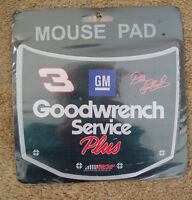 NASCAR #3 DALE EARNHARDT SR GOODWRENCH SERVICE PLUS.MOUSE PAD NIP/HTF