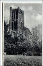 Ak ~ 1950 los Briel Brielle Holland Países Bajos iglesia postal postal