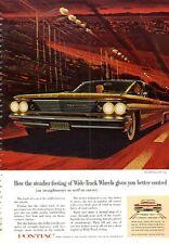 1960 Pontiac Bonneville Vista 4-Door  PRINT AD