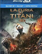LA FURIA DEI TITANI  REAL 3D   BLU-RAY+ 3D