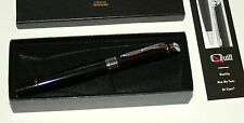 Mobil 1 Oil Racing Advertising Logo Quill BallPoint Pen New in Box Papers Promo