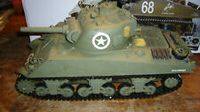 1/16 Sherman Tank RC Heng Long with extras