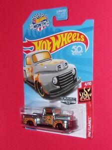 2018 Hot Wheels MONTH Zamac '49 Ford F1 '67 Mustang Porsche 934.5