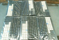 Lot of 6 NCR Big Ticket POS Retail Clicky Keyboard 5932-6570-9090 w/ Touchpad