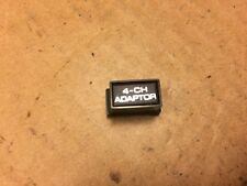 Sansui Six & Seven Parts - 4-CH ADAPTOR Pushbutton Knob Cover for Receiver