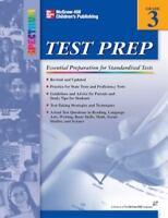 Spectrum Grade 3 Test Prep Paperback Book by
