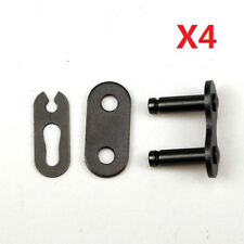 4pcs 420 Chain Master Joiner Links for Motorized Bicycle Bike Dirt Pit Bike Scoo