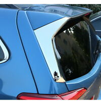 For Subaru Forester  2019 Chrome Rear Window Spoiler Side Moulding Cover Trim