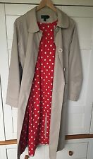 Boden Light beige Trench Coat Size 12