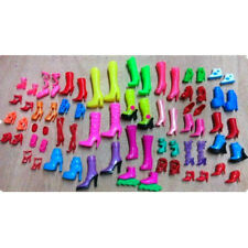Random Shoes Heels Sandals For Barbie Doll Fashion Party Dress 4 Pairs Toy UK