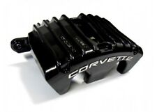 TPS C5 Corvette 1997-2004 Powder Coated Rebuilt Caliper & Bracket Set-BLACK