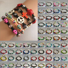 Howlite Handmade Stone Costume Bracelets
