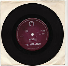 THE OVERLANDERS - MICHELLE Ultrarare 1966 New Zealand Single Release! EX-