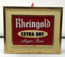 Rheingold Beer Bartop Sign Coaster Holder Bar Tool Holder w/ Coasters Very Rare