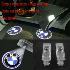 2X LED Car Door Laser Projector Shadow Logo Light For BMW E60 E90 Z4 E61 E63 E65