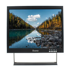 "Eyoyo 12"" LCD HD 1024 768p Video Monitor HDMI VGA BNC sicurezza CCTV Display L1D"