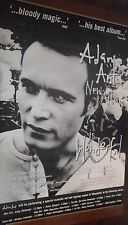 "40x60"" HUGE SUBWAY POSTER~Adam Ant ""Wonderful"" 1995 Album Tour Concert Bill NOS~"