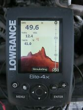 Lowrance Elite-4x Fishfinder with Transducer FREE SHIPPING