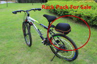 Quick Release Bike Alloy Rear Rack Carrier Seatpost Pannier Pack Frame Seat Bag