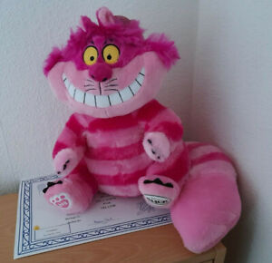 FROM BUILD A BEAR ONLINE EXCLUSIVE: ALICE IN WONDERLANDS CHESHIRE CAT BNWT'S