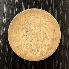 1925 Mexico 50 centavos - silver coin