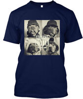 Supersoft Straight Outta Rescue Pitbull - Hanes Hanes Tagless Tee T-Shirt