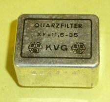 Quarzfilter Crystal Filter XF - 11,5 -36