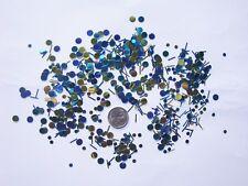 Table Scatters Foil Confetti Aqua & Lime Polkadot Tinsel Mix BUY 1 GET 1 FREE