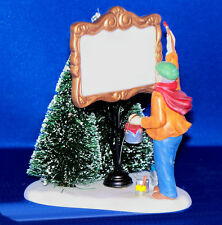 Dept 56 PAINTING OUR OWN VILLAGE SIGN, Heritage Village, New in Box, #55501