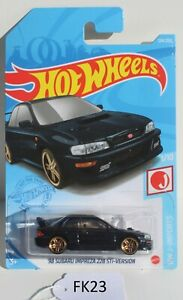 Hot wheels HW J-Imports 98 Subaru Impreza 22B STi-Version 1/10 FNQHotwheels FK23