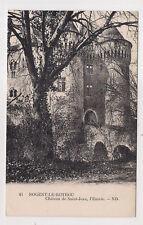 nogent-le-rotrou , château de saint-jean , l'entrée