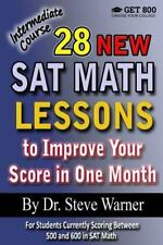 28 New SAT Math Lessons to Improve Your Score in One Month - Intermediate...