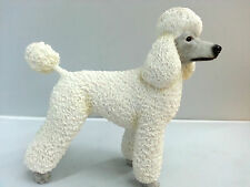 White Poodle Dog Ornament Figurine Brand New Boxed