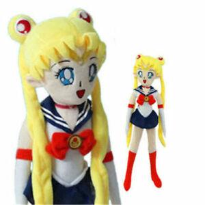 20'' Sailor Moon Tsukino Usagi Plush Doll Pillow Stuffed Toy Xmas Gift Anime