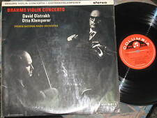 SAX 2411 UK orig. BRAHMS Violin Concerto in D major OISTRAKH, KLEMPERER
