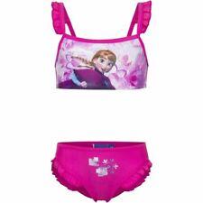 9f8c5af050699 Disney Childrens/kids Frozen Anna Pink Girls Bikini Set Age 8 Years