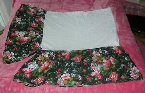 RALPH LAUREN Floral Cossette Isadora Full/Double Bed Skirt - Vibrant Colors!