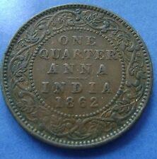 India British - quarter Anna - 1/4 Anna 1862 Queen Victoria - KM# 467