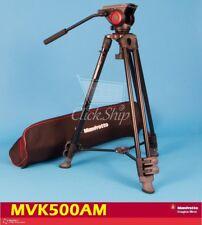 Manfrotto MVK500AM Tripod Kit MVH500A Fluid Drag Video Head with MVT502AM Legs