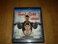 EEUC Hansel & Gretel Witch Hunters 2 Disc  Blu-ray + DVD Movie Unrated Cut