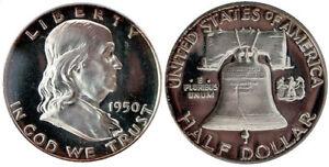 1950 Franklin Half Dollar Choice Proof