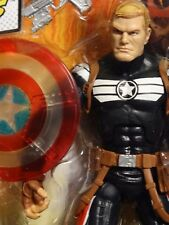 Marvel Legends STEVE ROGERS - CLEAR SHIELD VARIANT MIP !! w/ TERRAX BAF part