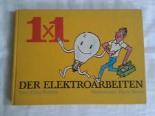 1x1 der Elektroarbeiten, Literatur für den Heimwerker 1975, Fachbuch Elektriker