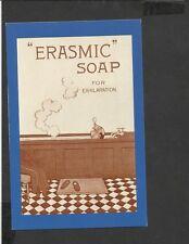 Nostalgia Postcard Advertising From Punch for  Erasmic Soap 1920's