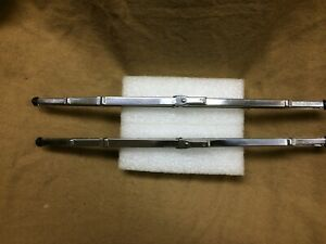 "1955-1958 Ford,Thunderbird,Lincoln,Mercury Trico 12"" NOS wiper blades, pair"