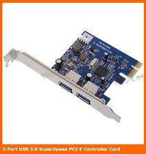 PCI Express 2 Ports USB 3.0 PCI-EX Card