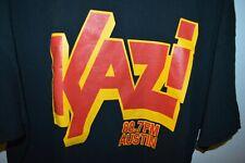 KAZI Radio Austin Texas 88.7 FM Mens XL T-SHIRT Community  Listener Music