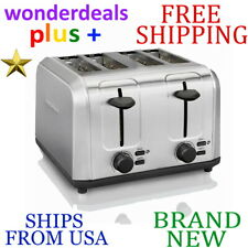 *New* Hamilton Beach 4-Slice All Metal Toaster High-Lift Toast Boost Stainless