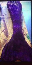 Mermaid Tail Swimmable Realistic Silicone Monofin, H2O, Weeki Wachee Mermaids